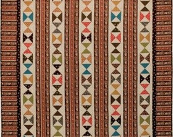 the Hourglass Quilt Pattern