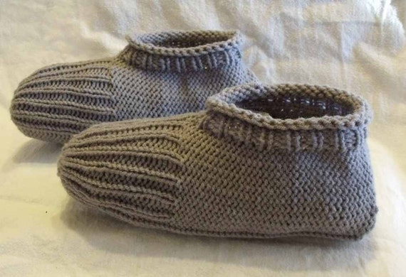 Knitting Shoes Tutorial : Learn to knit slippers tutorial knitting pattern for kindle