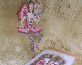 Marie Antoinette Ballerina Paper Doll Digital INSTANT Download - Printable  Doll With Butterfly Tutu, Cupcake - Altered Art  CS9M