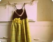 Black and yellow babydoll dress-xsmall small