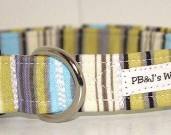 PBJ World Custom Collar...Going Green