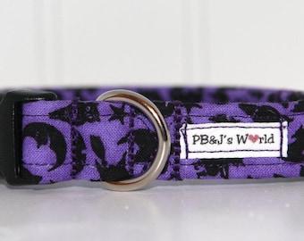 PBJ World Custom Collar...Peeking Shadows
