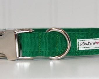 PBJ World Custom Collar...Emerald