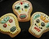 Dia del Muerto cookies