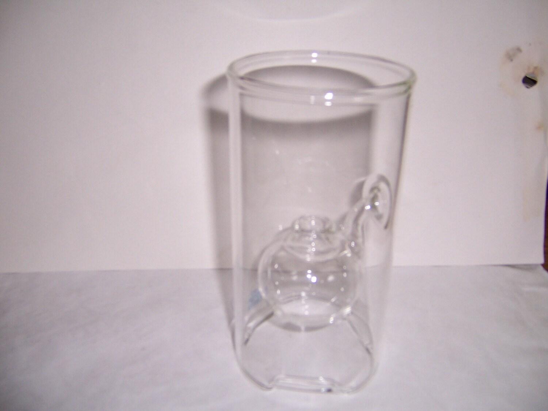 Wolfard Handblown Glass Oil Lamp By Hazelshouse On Etsy