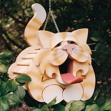 how to make a cat house out of wood