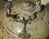 Crystal Waters Rosary Bracelet