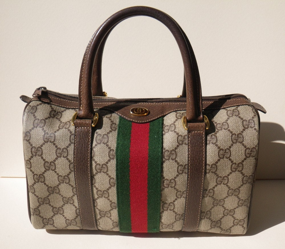 6a36cc34c3ed6a Authenticating Vintage Gucci Bags. Authentic Vintage Gucci Speedy Boston  Doctor ...