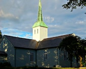 Norweigan Church 8x10 print - Jamlex
