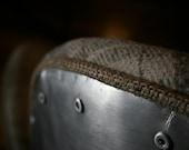 Riveted Aluminum Aviator Chair - Metal Eames Chair