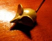 RESERVED until Dec 20 for J Little brass mousy ring holder