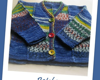 Patches Baby Sweater Pattern