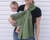 Organic Cotton Baby Ring Sling- Any Color