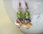 Delicious cashew fruit earrings