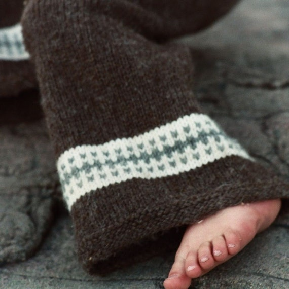 Woolen Knitting Patterns : Knit Wool Longies Knitting Pattern Cloth Diaper Cover