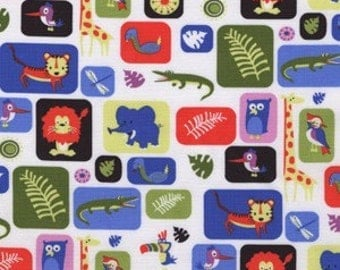 Michael Miller Jungle Box- 1 yard