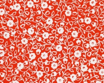 Honey Swirl in Poppy, 1 yard