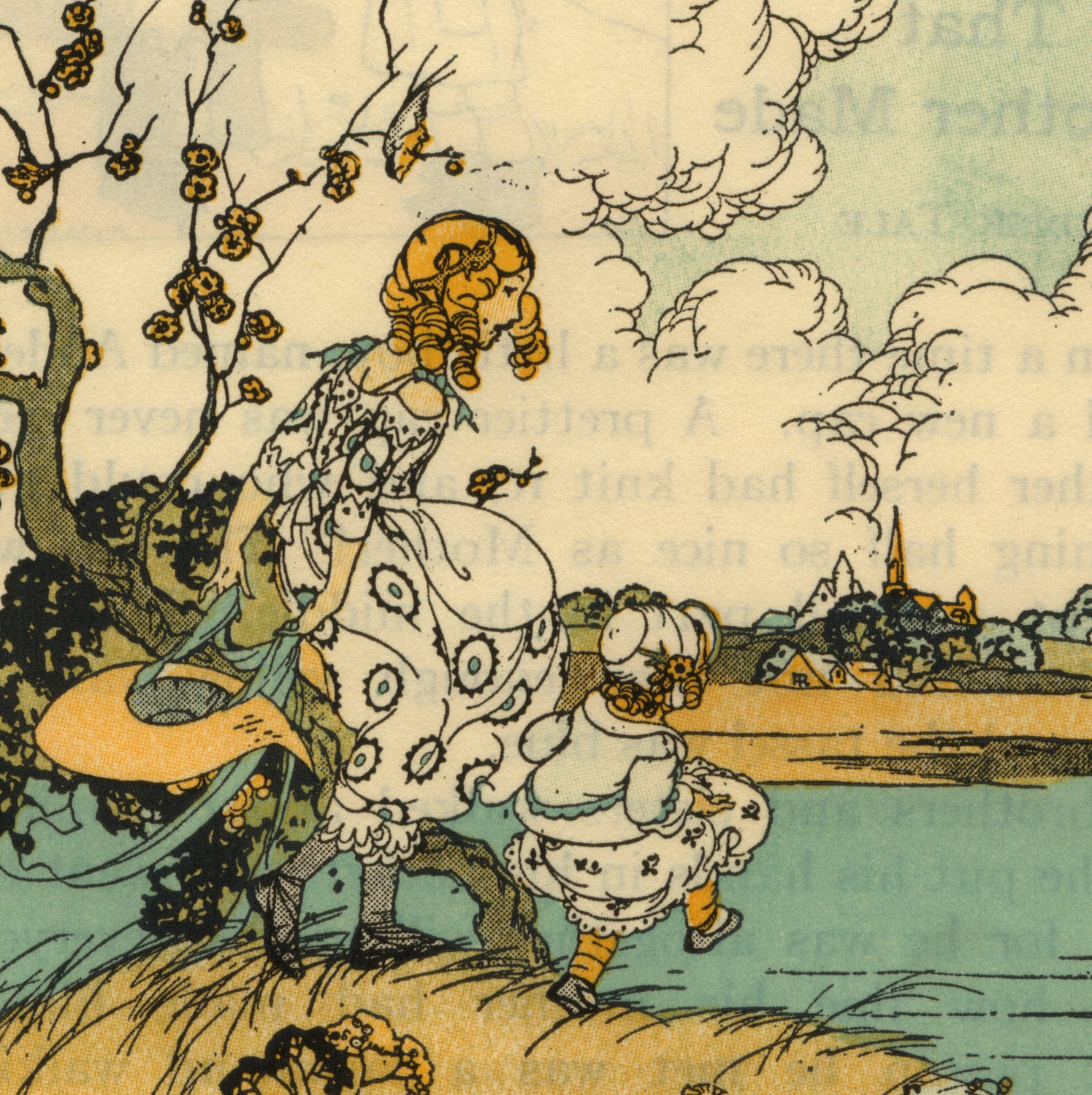 Old Book Illustrations: Lovely Vintage Illustrations From Children's Book By
