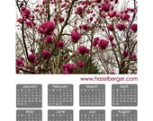 2012 Wall Calendar  -- Featuring The View Magnolia Photograph by Hazel Berger