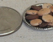 Mini Chocolate Chip Cookies plate magnet
