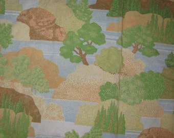 Vintage full flat  bed sheet  Fall River
