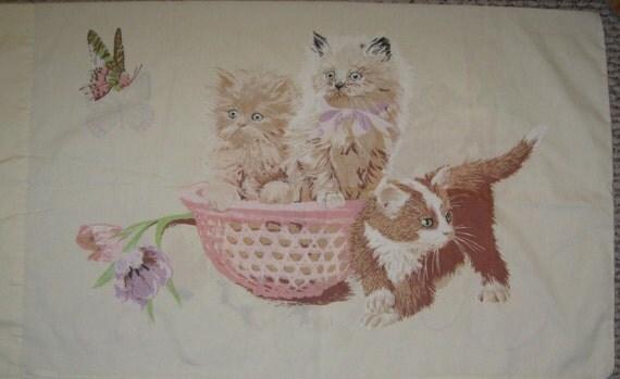 Sweet Kittens   standard pillowcase