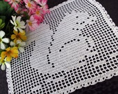 Cute squirrel  doily