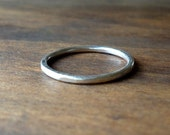 Simple Handmade Silver Ring