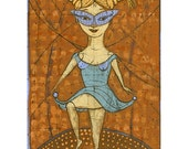 Jenny Mendes Limited Edition Giclee - Off To The Masked Ball