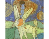 A Jenny Mendes Limited Edition Giclee - Perfect Balance