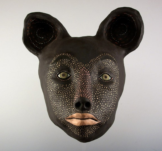 Mask - Black Bear