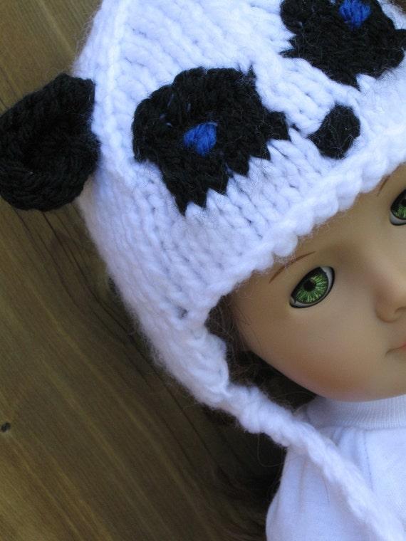 Reserved for Pat-- Panda Hat