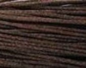 Waxed Cotton Cord String - 15 yards (45 ft)  3mm- brown