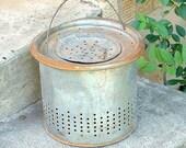 RESERVED FOR MIMI Vintage Bait Bucket Insert