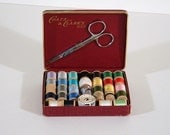 Vintage Sewing Kit, Coats and Clark