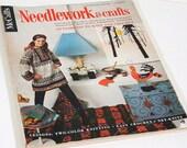 Vintage McCalls Needlework and Crafts Magazine, 1967, 1968