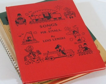 Vintage Children's Music Books, Collection of Four