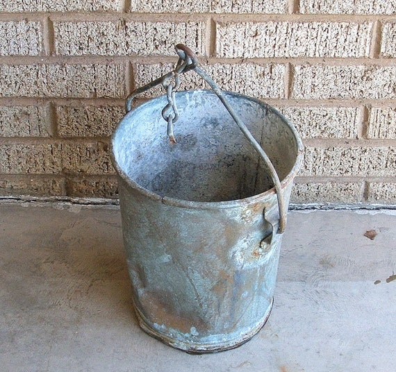 Vintage Well Bucket By Tagsalefinds On Etsy