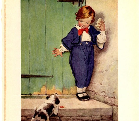 Vintage Print by Jessie Willcox Smith, 1910