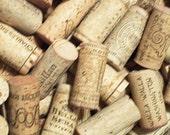 20 wine corks for crafting destash used assorted