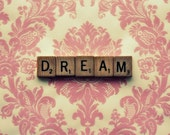 Scrabble Photography -  Little Pink Dream  Shabby Chic. Dress Up Your House.