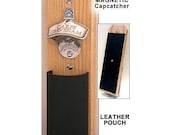Latin Capcatcher Bottle Opener - Leather Pouch