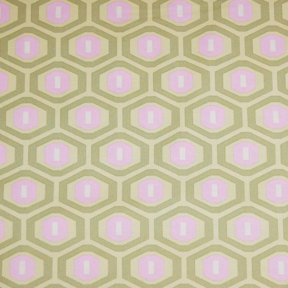 Honeycomb in Sage, Midwest Modern II Collection by Amy Butler - 1/2 Yard