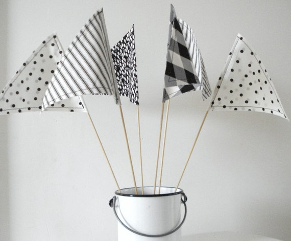 Tabletop Party Pennants Set of 6