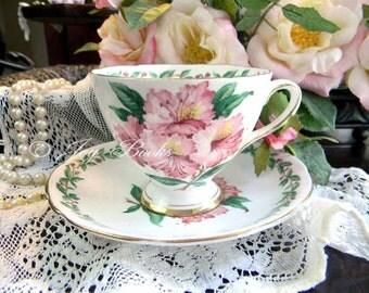 PINK & PRECIOUS Tea Time Note Card