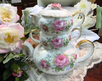 TEA PARTY Tea Time Note Card