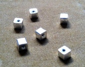 Bali Silver Beads (set of six)