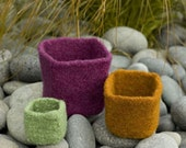 Felted Nesting Boxes