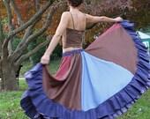 Dancer's Delight Double Ruffle Skirt - CERRIDWEN