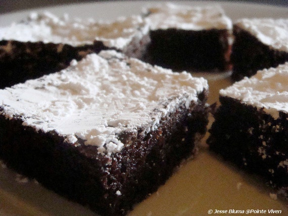 Chocolate Gingerbread Bars by Jesse Bluma